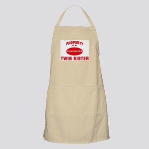 TWIN SISTER Firefighter-Prope BBQ Apron