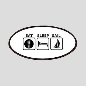 Eat Sleep Sail Patches