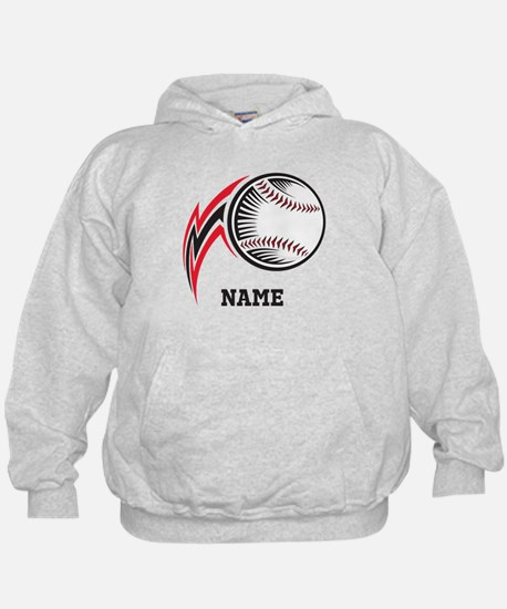 Personalized Baseball Pitch Hoodie