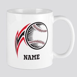 Personalized Baseball Pitch Mug