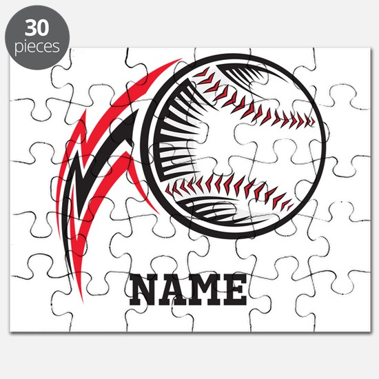 Personalized Baseball Pitch Puzzle