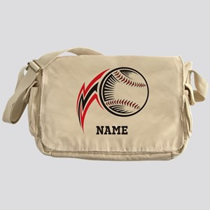 Personalized Baseball Pitch Messenger Bag