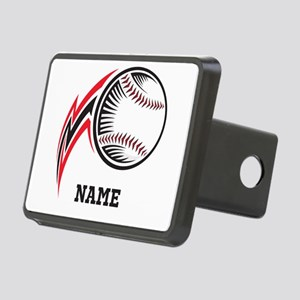 Personalized Baseball Pitch Rectangular Hitch Cove