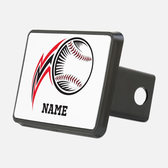 Personalized Baseball Pitch Hitch Cover