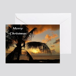 Sunset North Shore Oahu Greeting Card