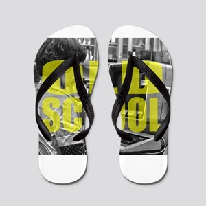9424df043b68 Flip Flops. Old School - Vintage - Retro - Funny - 70s - 80s F