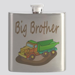 Big Brother Dump Truck Flask