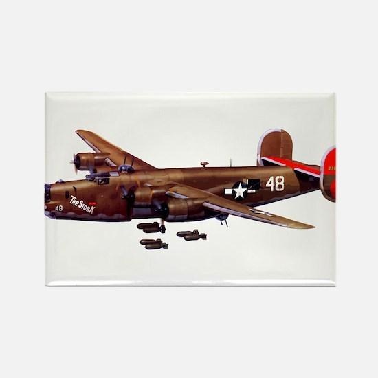 B-24H Liberator 2 Rectangle Magnet (10 pack)