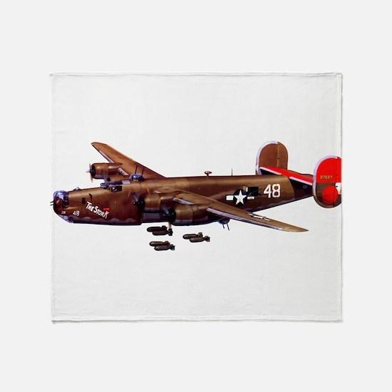 B-24H Liberator 2 Throw Blanket