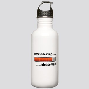 Sarcasm Loading Water Bottle