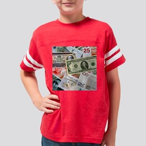 MONEY SQUARE Youth Football Shirt
