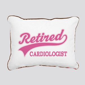 Retired cardiologist Rectangular Canvas Pillow