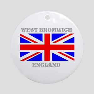 West Bromwich England Ornament (Round)