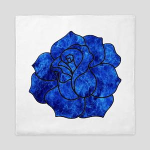 Blue Rose Queen Duvet