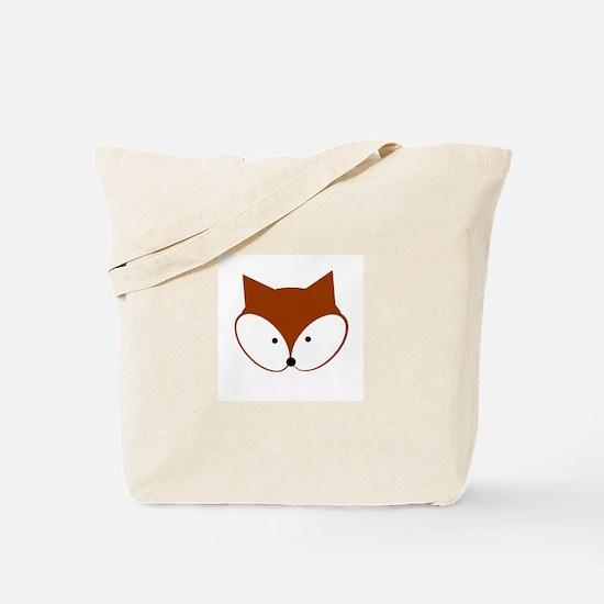 Curious Fox Tote Bag