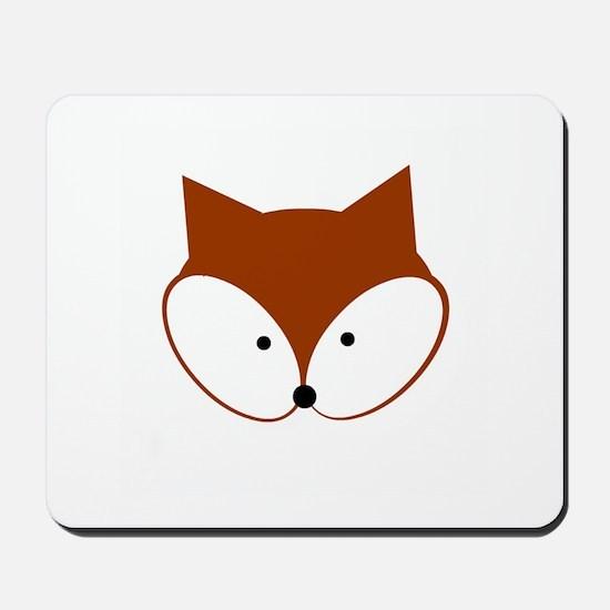 Curious Fox Mousepad