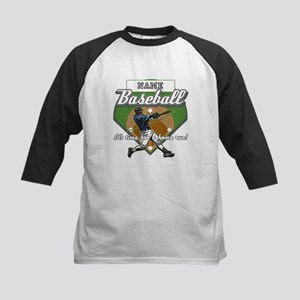 Personalized Home Run Time Kids Baseball Jersey