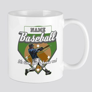 Personalized Home Run Time Mug