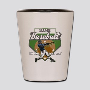 Personalized Home Run Time Shot Glass