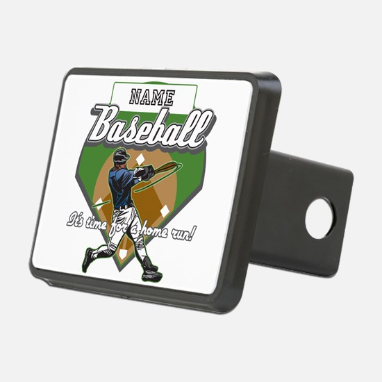 Personalized Home Run Time Hitch Cover