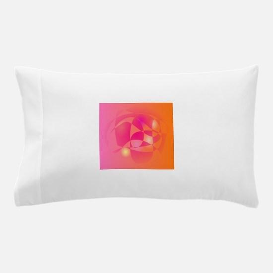 Orange Talk Pillow Case