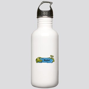 Personalized Alligator Stainless Water Bottle 1.0L