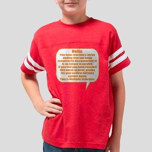 12x12 Hello Youth Football Shirt