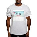 Virginia NDN Ash Grey T-Shirt