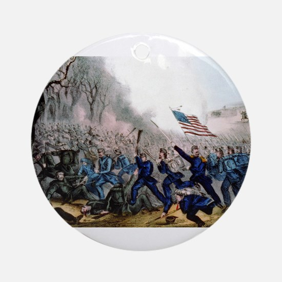 Battle of Mill Spring, Ky - 1862 Round Ornament