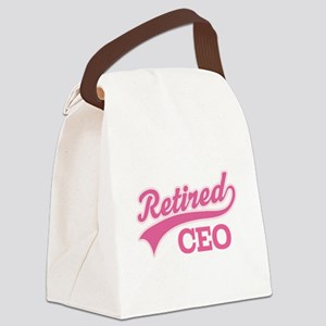 Retired CEO Canvas Lunch Bag