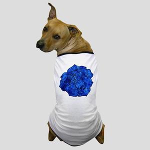 Blue Rose Dog T-Shirt