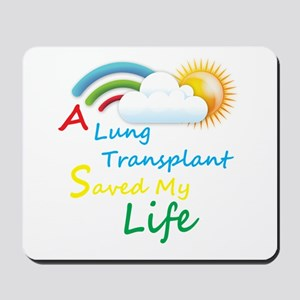 A Lung Transplant Saved my Life Rainbow Cloud Mous