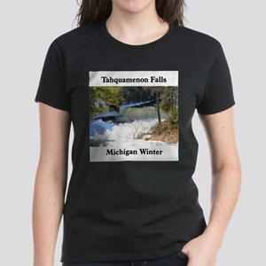 Tahquamenon Falls Women's Dark T-Shirt