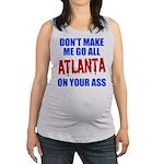 Atlanta Baseball Maternity Tank Top