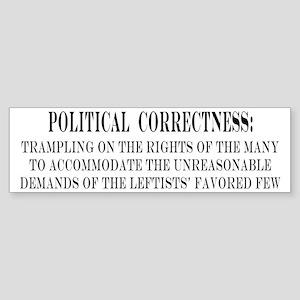 Political Correctness Definition 1 Bumper Sticker