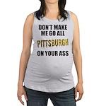 Pittsburgh Baseball Maternity Tank Top