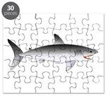 Megalodon Shark f Puzzle
