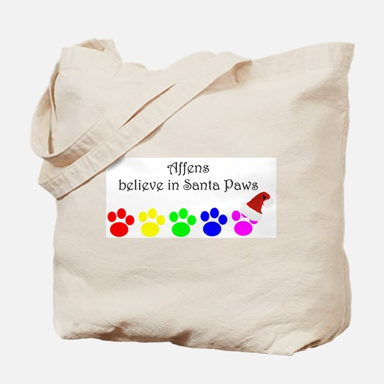 Affens Believe Tote Bag