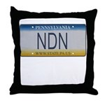 Pennsylvania NDN Pride Throw Pillow