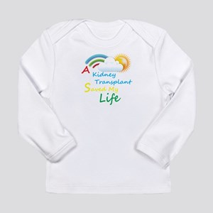 Kidney Transplant Rainbow Cloud Long Sleeve Infant