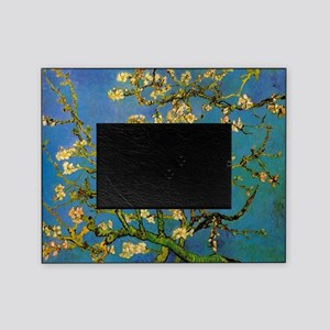 Blossoming Almond Tree by Vincent va Picture Frame