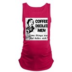 FIN-coffee-chocolate-men Maternity Tank Top