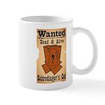 Wanted Cat Mug