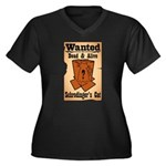 Wanted Cat Plus Size T-Shirt