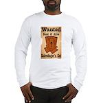 Wanted Cat Long Sleeve T-Shirt