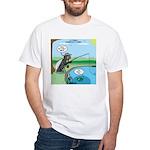 Fly Fishing White T-Shirt