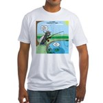 Fly Fishing Fitted T-Shirt