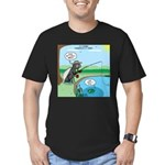 Fly Fishing Men's Fitted T-Shirt (dark)