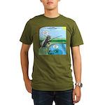 Fly Fishing Organic Men's T-Shirt (dark)