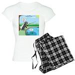 Fly Fishing Women's Light Pajamas